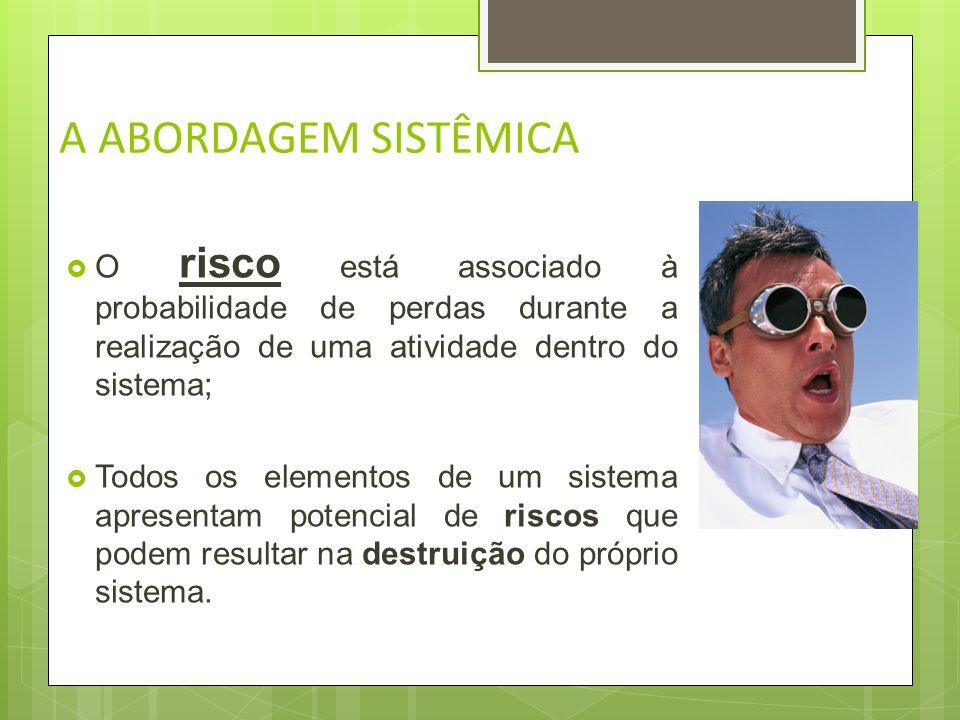 A ABORDAGEM SISTÊMICA TOMADA DE DECISÃO De acordo com SELL (1995):