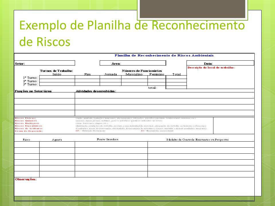 Desenvolvimento do PPRA 9.3.3.O reconhecimento dos riscos ambientais deverá conter os seguintes itens, quando aplicáveis: a)a sua identificação; b)a d