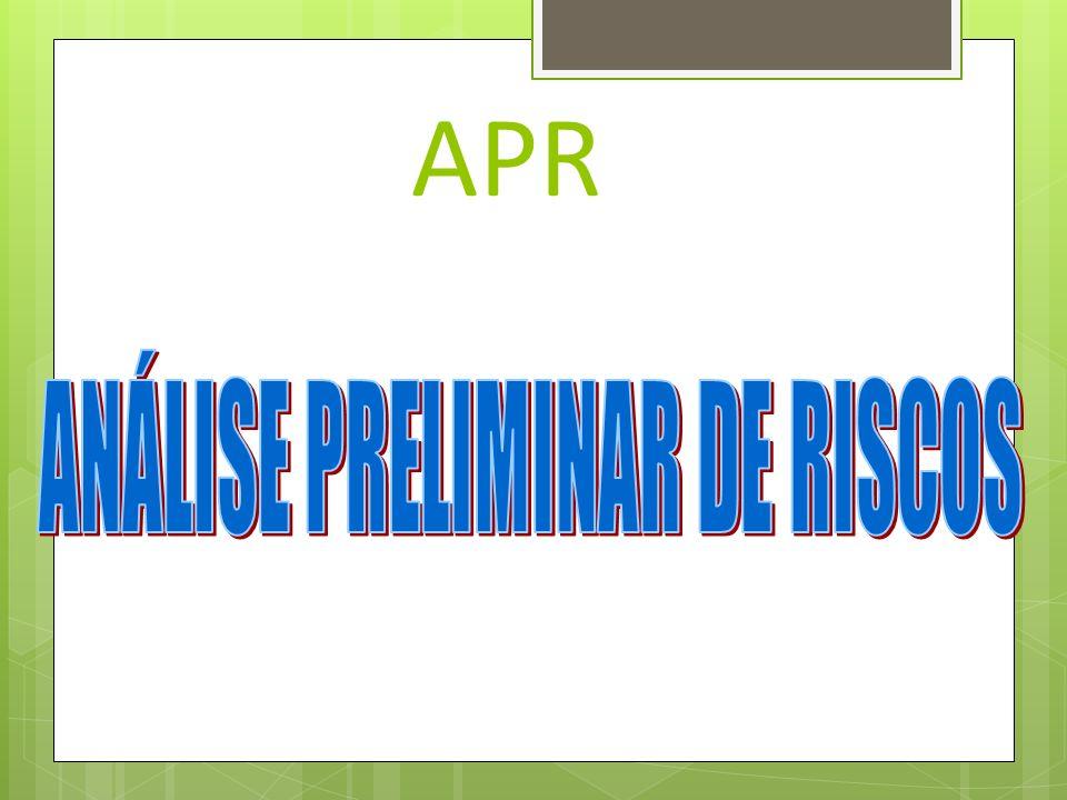 ANÁLISE DE RISCOS Análise de Risco é a verificação dos pontos críticos que possam vir a apresentar não conformidade durante a execução de um determina