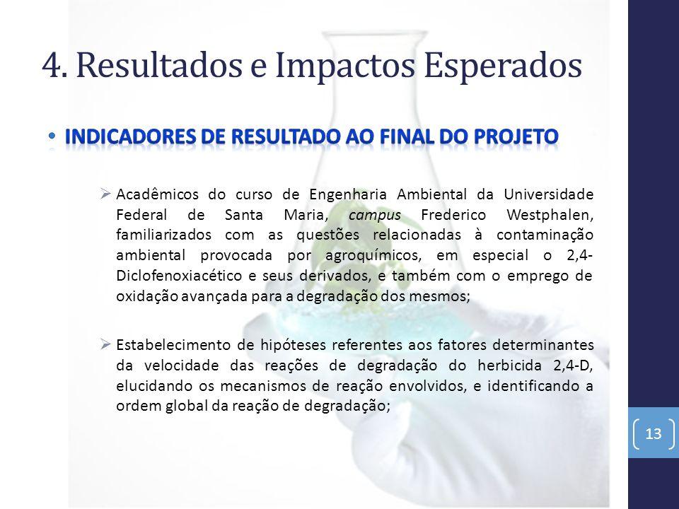4. Resultados e Impactos Esperados 13
