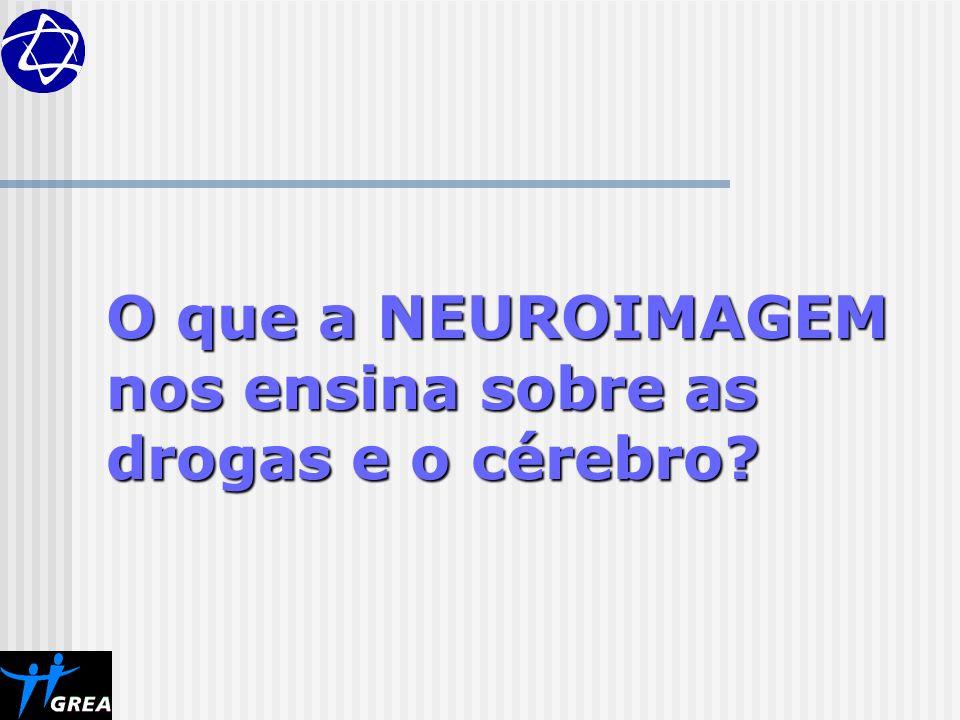 O que a NEUROIMAGEM nos ensina sobre as drogas e o cérebro?