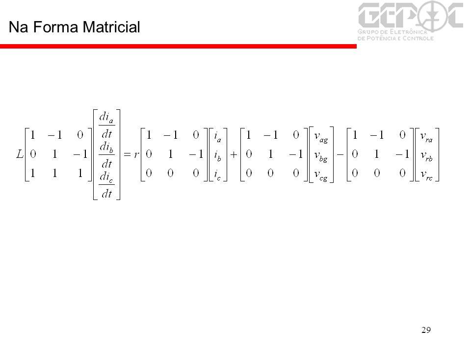 29 Na Forma Matricial