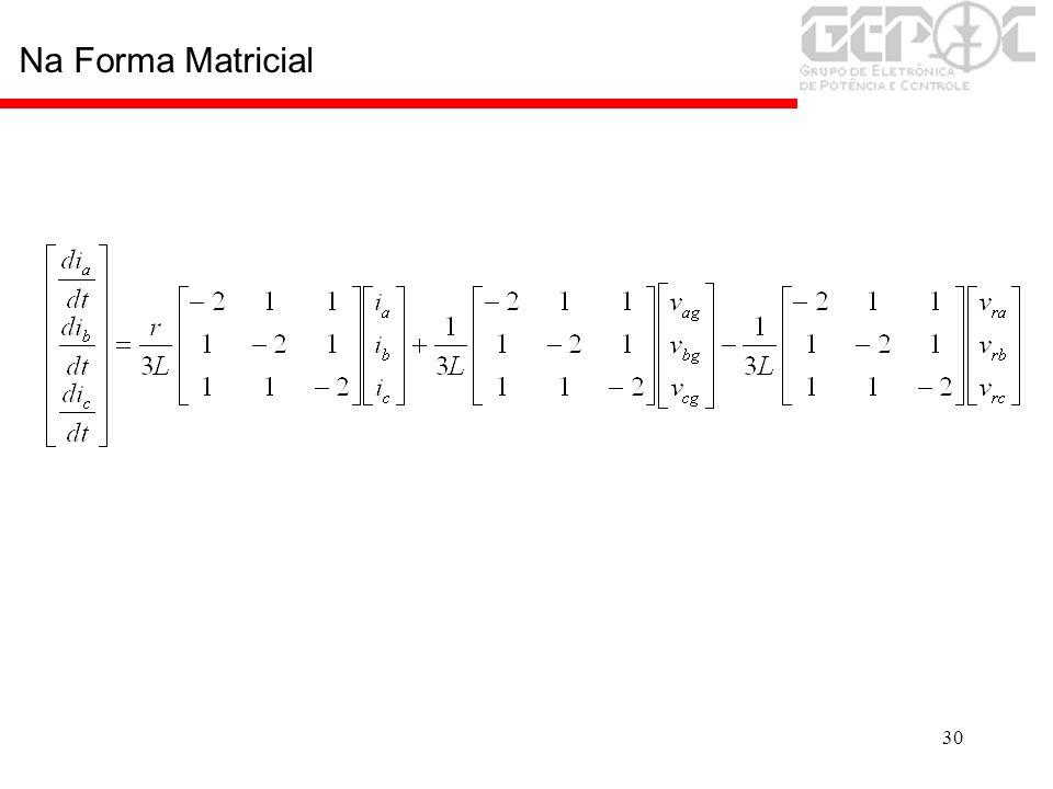 30 Na Forma Matricial
