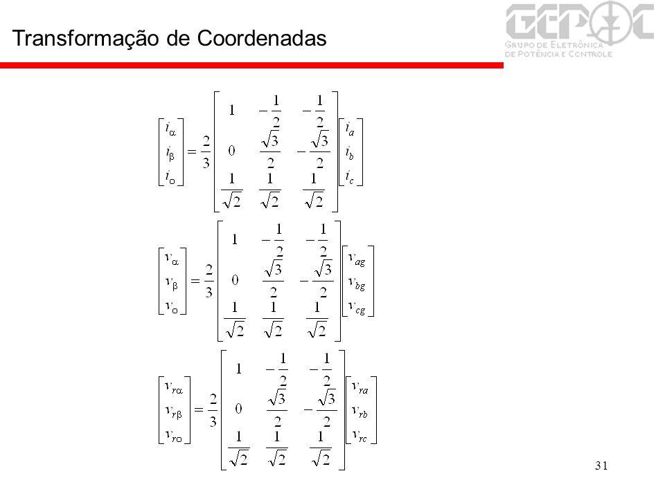 31 Transformação de Coordenadas