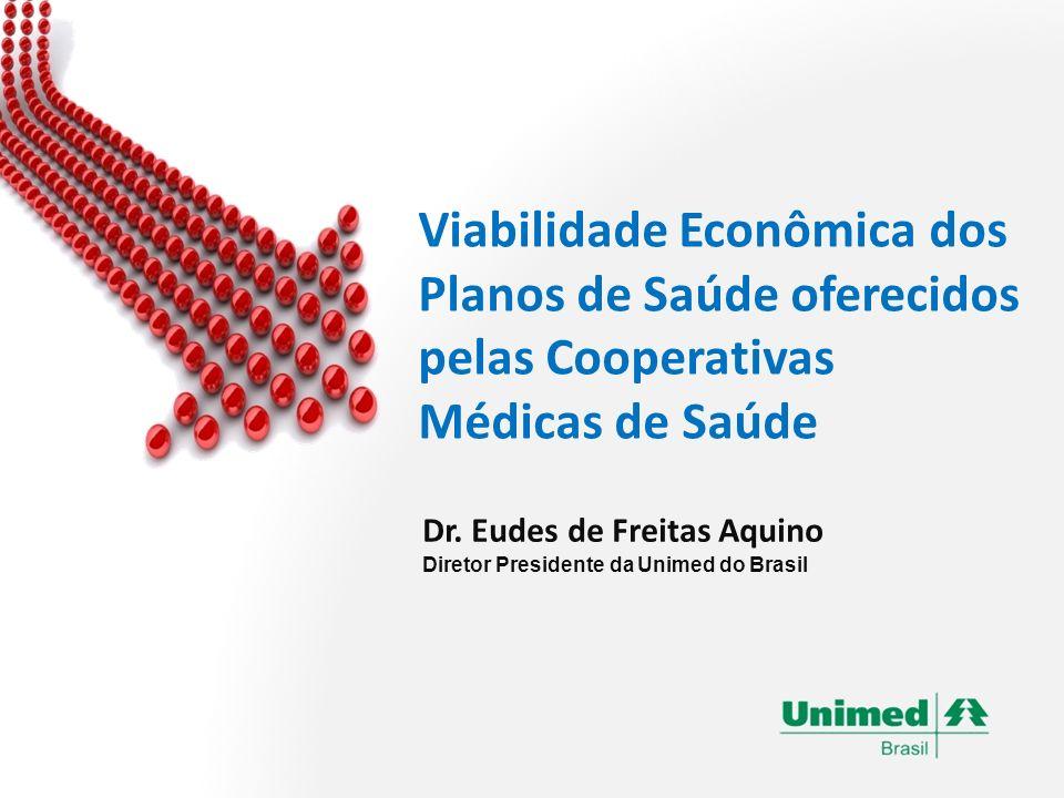 Dr. Eudes de Freitas Aquino Diretor Presidente da Unimed do Brasil Viabilidade Econômica dos Planos de Saúde oferecidos pelas Cooperativas Médicas de