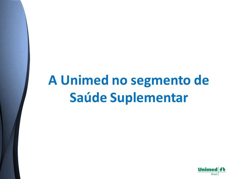 Presente em 83% dos municípios brasileiros* Fonte: Cadastro Geral de Unimeds – Unimed do Brasil (*) Total de cidades da área de abrangência das Unimed em todo o pais = 4.623 municípios