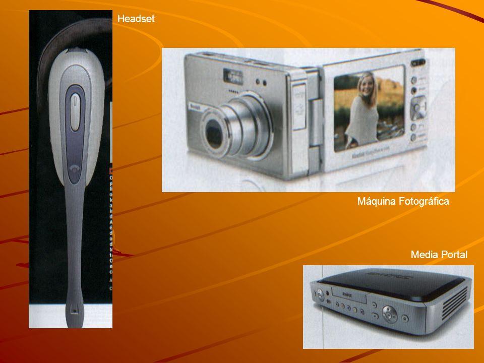 Ganhos pessoais e coorporativos; –Em casa: Home Teather, Wireless-B Music System, Headset, celulares com câmera e tocadores de MP3, Game Adapter; –Viagens cooporativas: Notebook com GPRS, Pocket PC´s; Novos serviços gerados; –Nokia 9500 Communicator; (R$ 4.500,00) –Pedágios; –Restaurantes; –Cinemas; –Cafés; –Blogs e Fotologs;