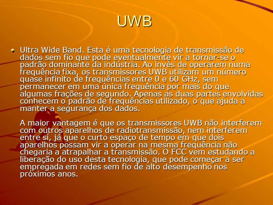 UWB – cont.