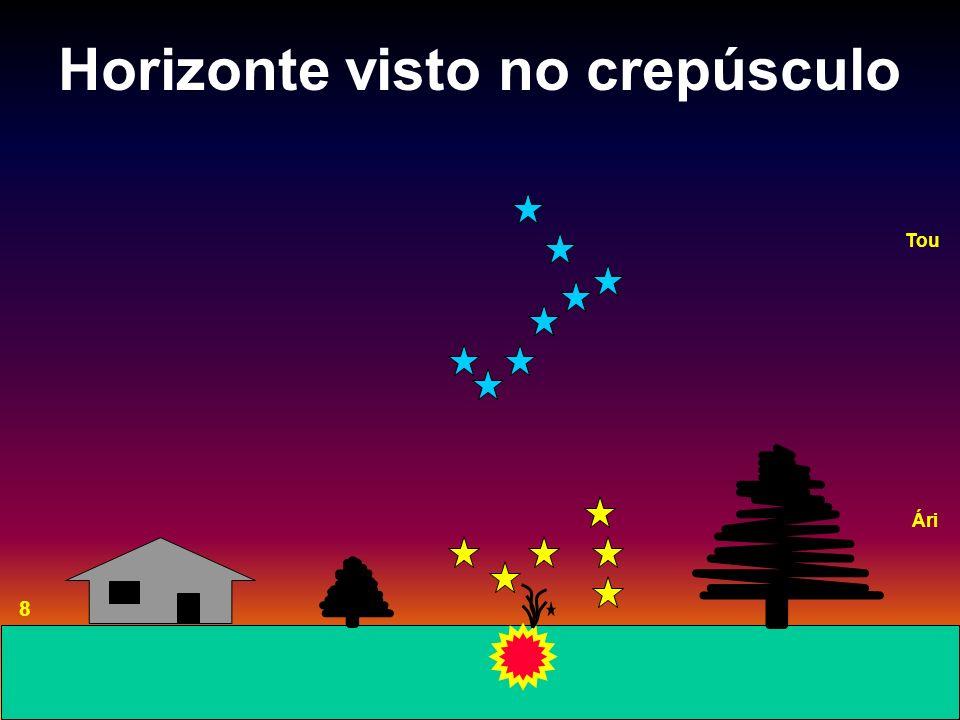Horizonte visto no crepúsculo 8 Tou Ári
