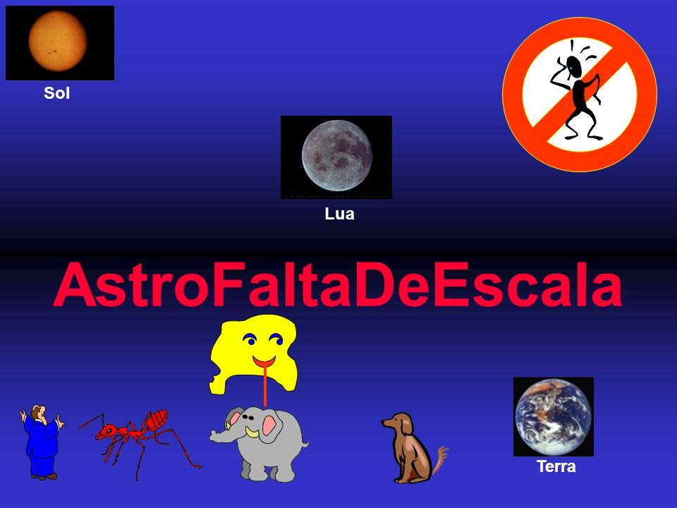 AstroFaltaDeEscala Terra Lua Sol