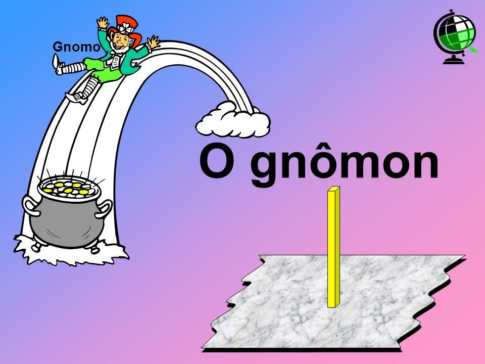 O gnômon Gnomo
