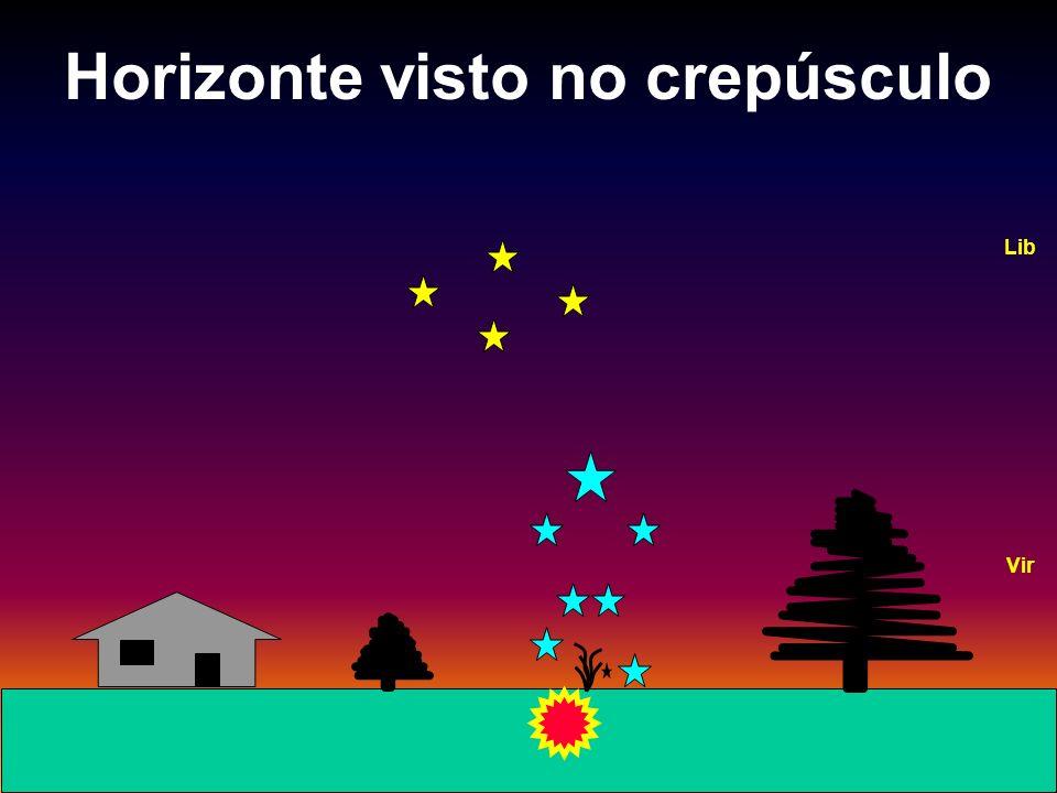 Horizonte visto no crepúsculo Vir Lib