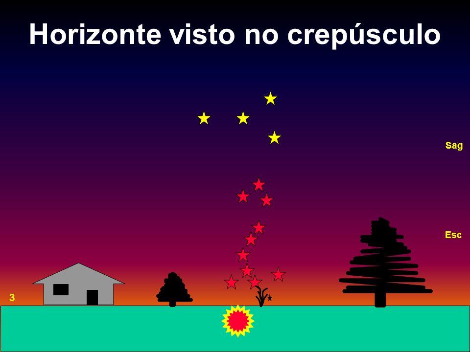 Horizonte visto no crepúsculo 3 Esc Sag