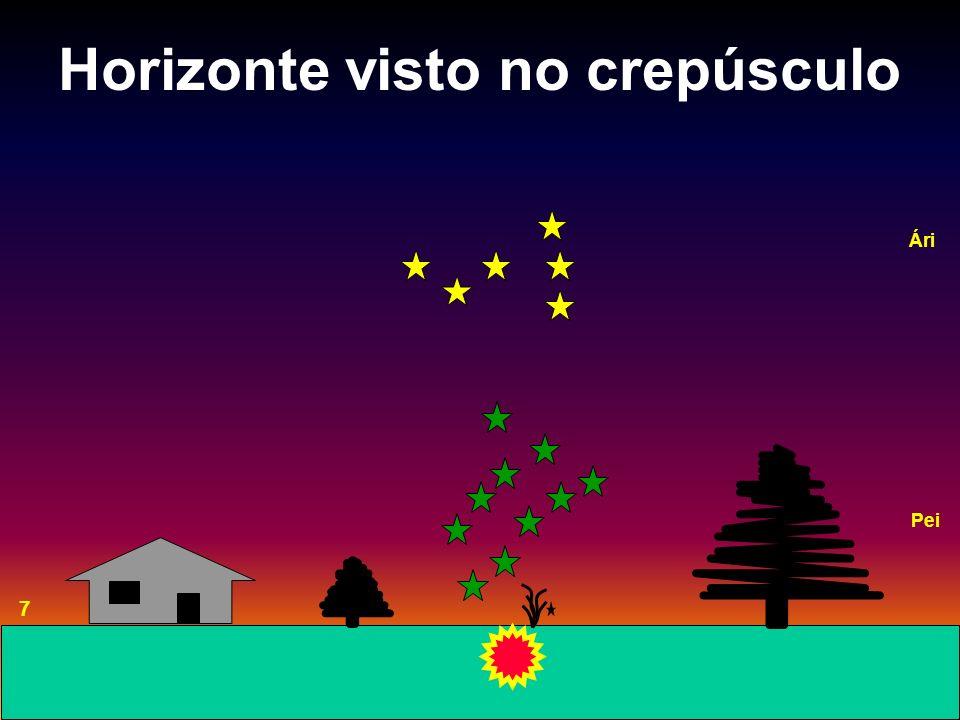 Horizonte visto no crepúsculo 7 Ári Pei