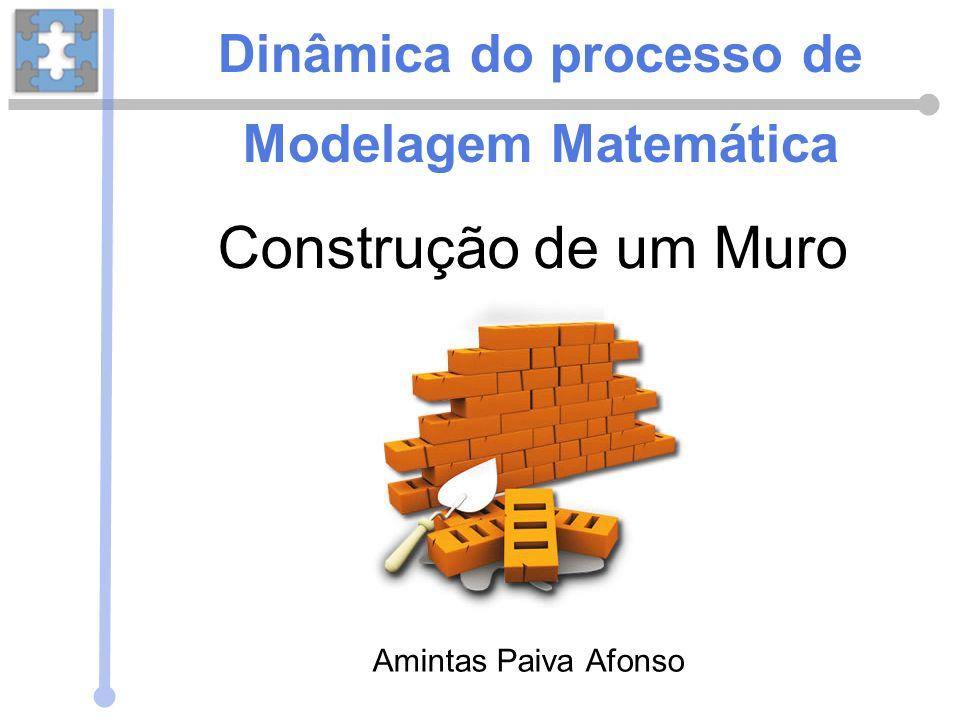 Construção de um Muro Amintas Paiva Afonso Dinâmica do processo de Modelagem Matemática