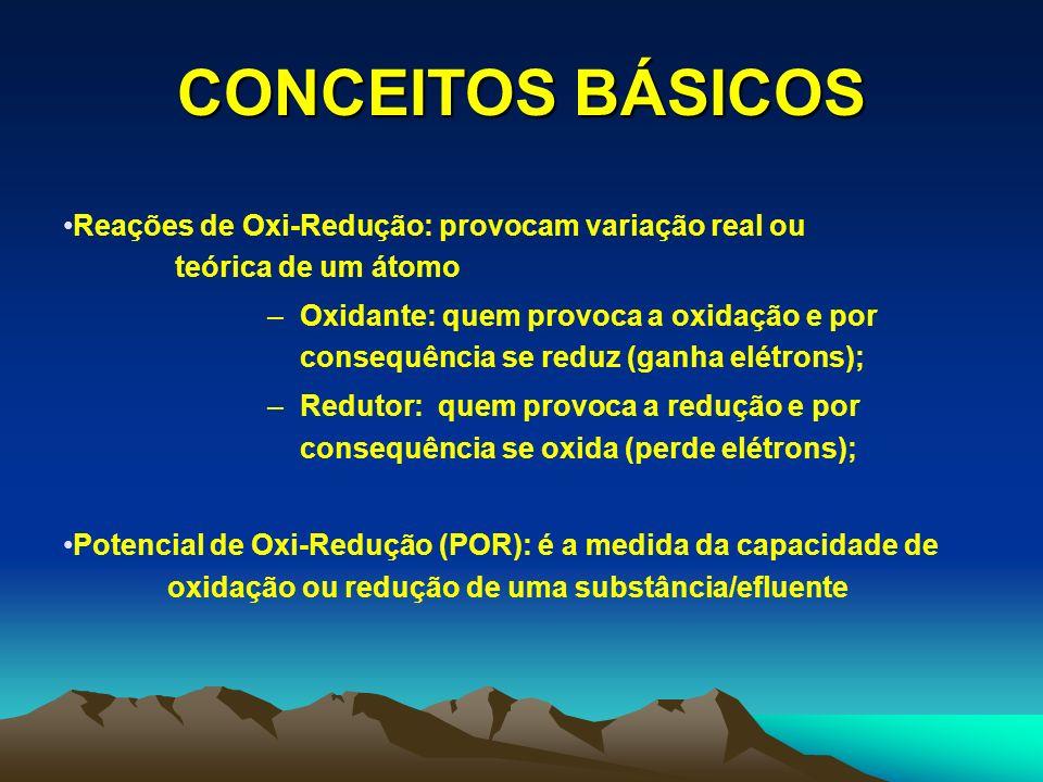 ELETRÓLISE Aplicações do processo eletrolítico: Remoção de metais; Remoção de DQO/DBO (coagulável); Remoção de substâncias recalcitrantes.