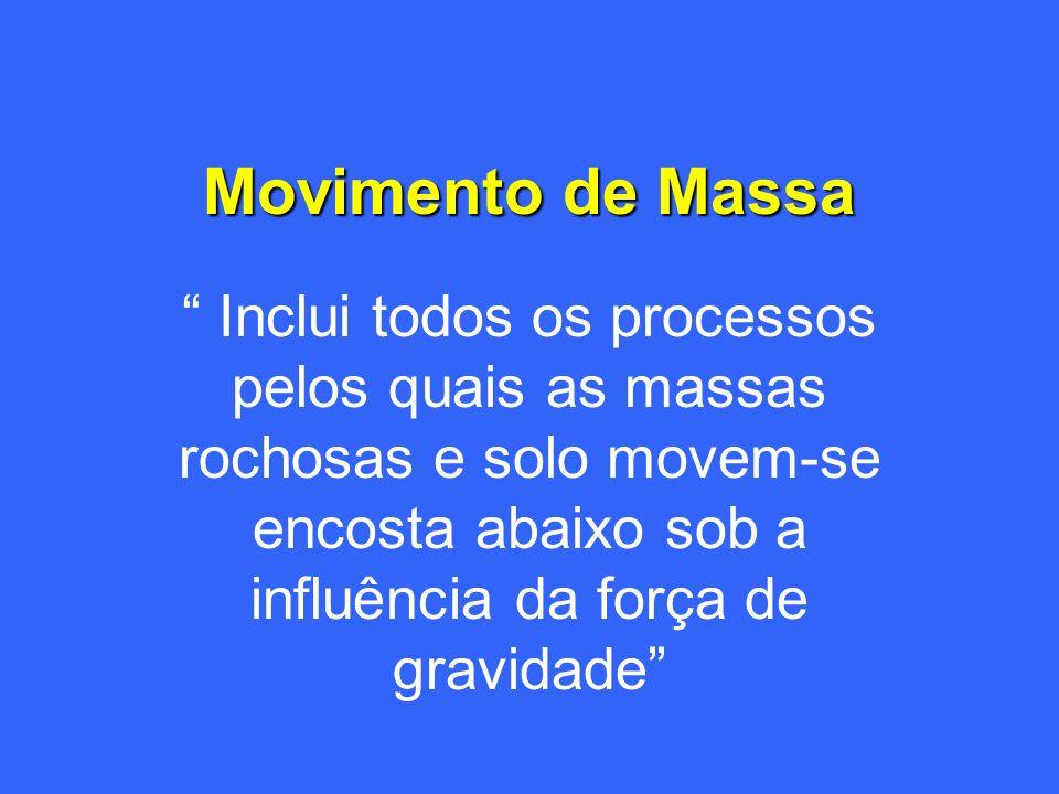 Qualé o tipo de movimentação de massa?