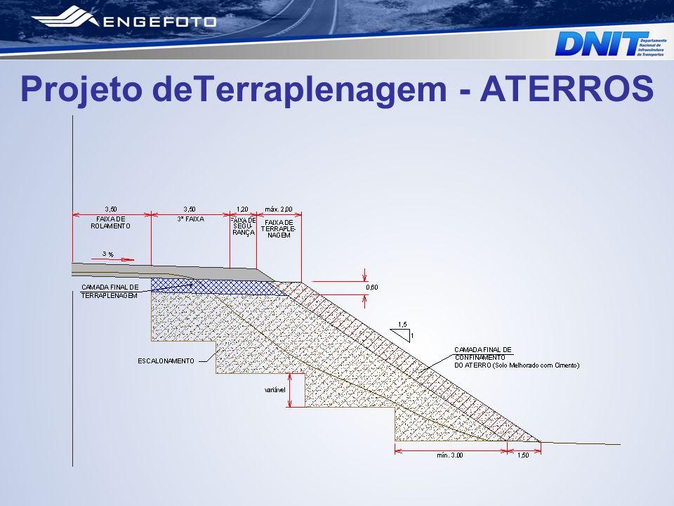 Projeto deTerraplenagem - ATERROS