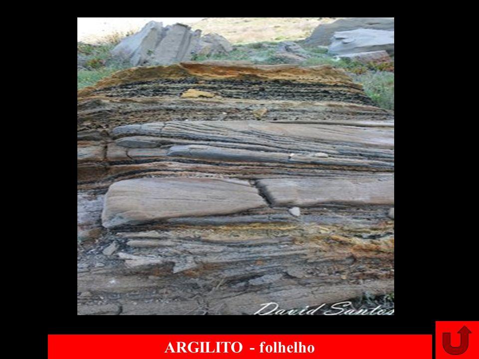 ARGILITO - folhelho