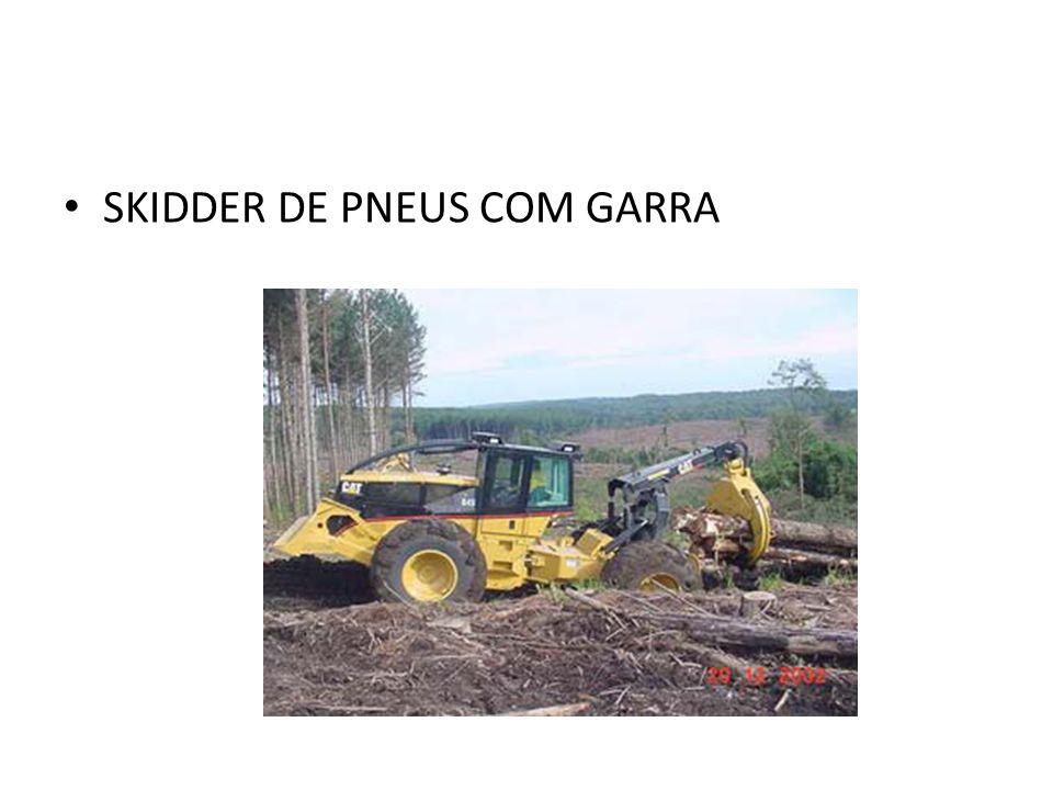 SKIDDER DE PNEUS COM GARRA