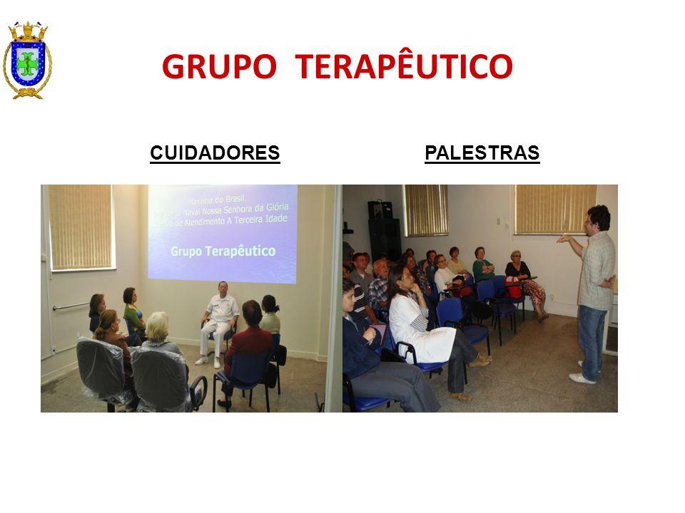 PALESTRAS GRUPO TERAPÊUTICO CUIDADORES