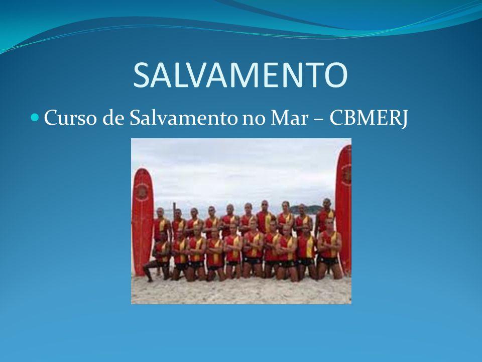 SALVAMENTO Curso de Salvamento no Mar – CBMERJ