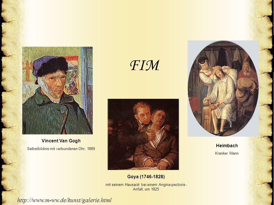 © A Med-World AG© A Med-World AG Vincent Van GoghVincent Van Gogh Selbstbildnis mit verbundenen Ohr, 1889Selbstbildnis mit verbundenen Ohr, 1889 © A M