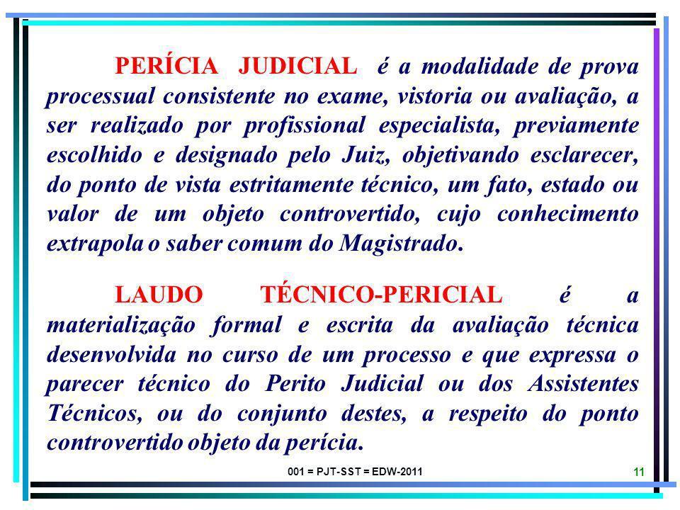 001 = PJT-SST = EDW-2011 10 CONCEITOS ELEMENTARES ESPECÍFICOS