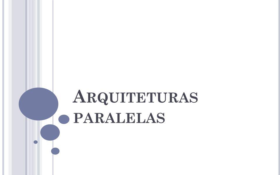 A RQUITETURAS PARALELAS