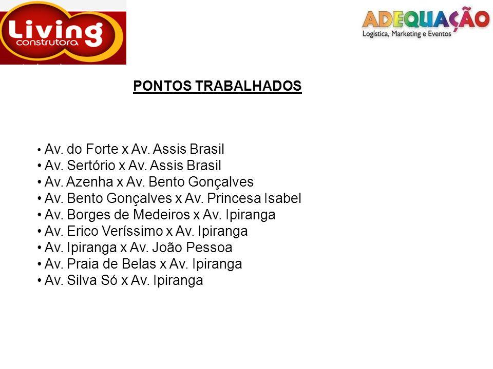 Divulgadores 1° turno Ponto: Praia de Belas x Ipiranga Divulgadora: Jessica Silveira da Silva Distribuído: 350 folhetos
