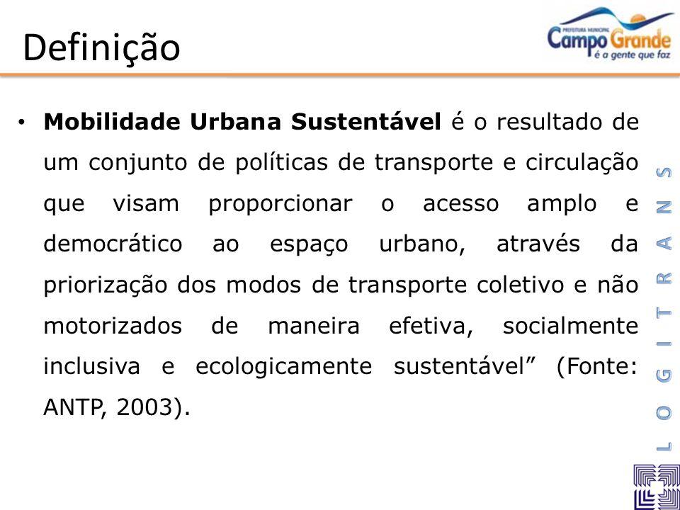 Mobilidade Urbana Sustentável é o resultado de um conjunto de políticas de transporte e circulação que visam proporcionar o acesso amplo e democrático