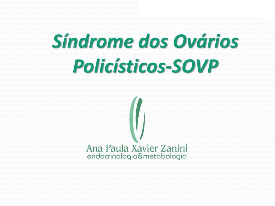 Histórico A síndrome foi descrita pela primeira vez em 1935 por Stein e Leventhal, com relato de sete casos com amenorréia, hirsutismo, infertilidade e obesidade os quais apresentavam ovários polimicroscísticos.