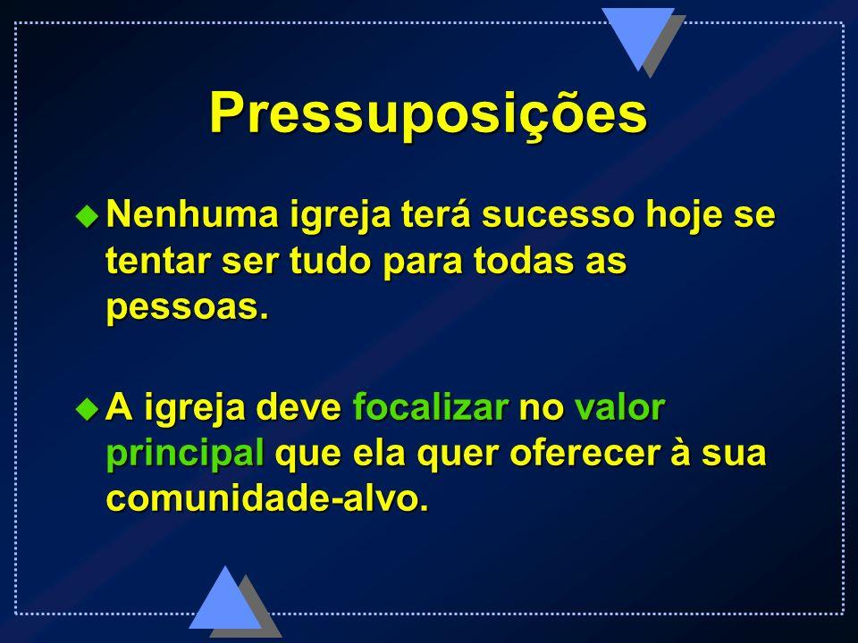 Pressuposições Sob cada valor bate o mesmo CORAÇÃO... Sob cada valor bate o mesmo CORAÇÃO...