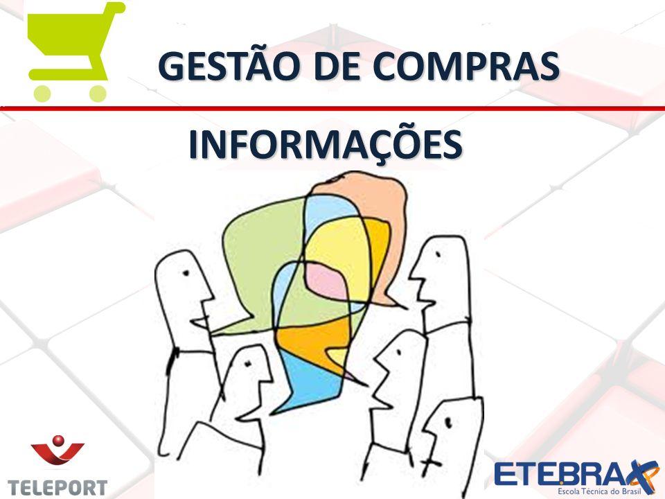 GESTÃO DE COMPRAS INFORMAÇÕES