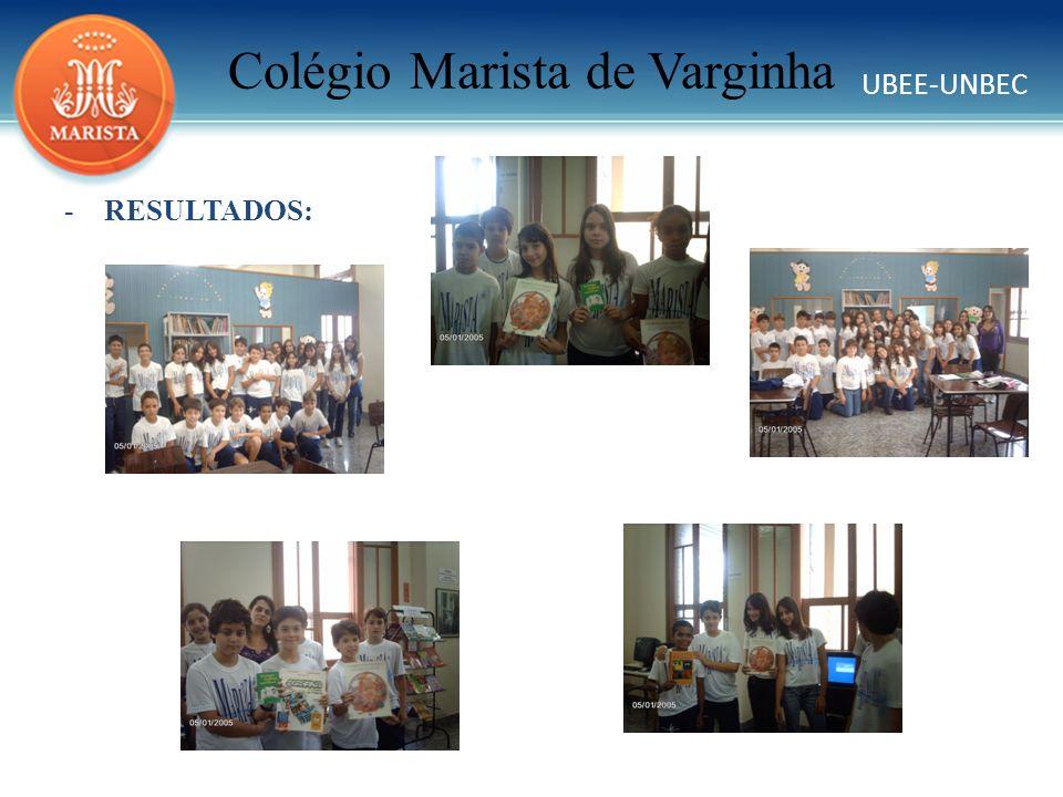 UBEE-UNBEC Colégio Marista de Varginha AZEVEDO, Jô; HUZAK, Iolanda; PORTO, Cristina.