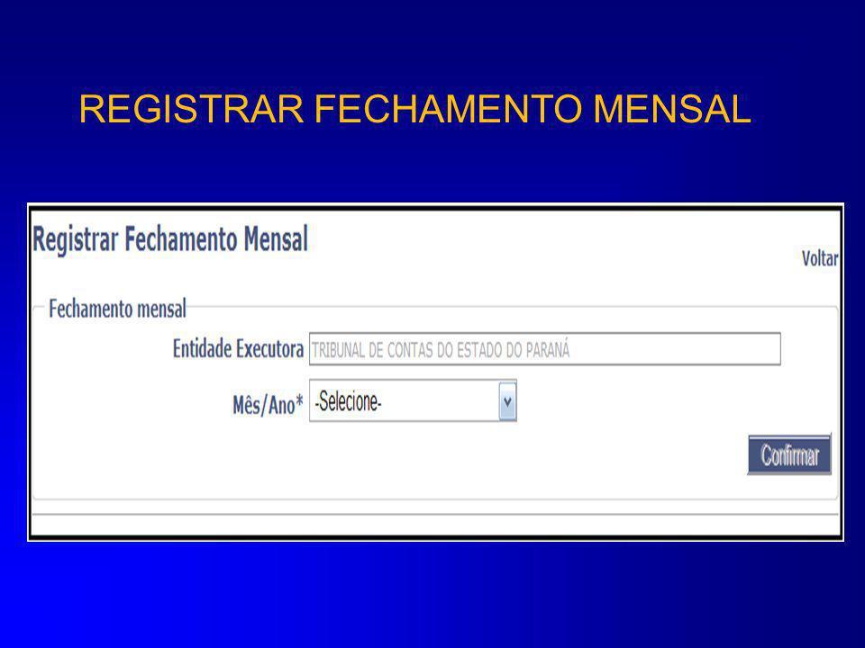 REGISTRAR PROCESSO LICITATÓRIO