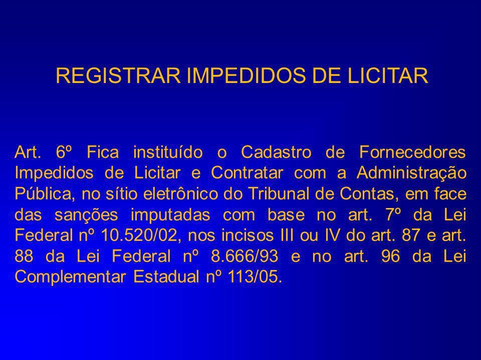 REGISTRAR FECHAMENTO MENSAL