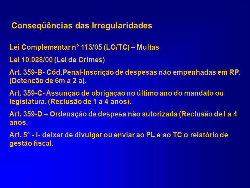 LEI COMPLEMENTAR N° 113/05 (LO/TC-PR) Art. 23. O Tribunal de Contas emitirá parecer, no prazo máximo de 1 (um) ano a contar do seu recebimento, sobre