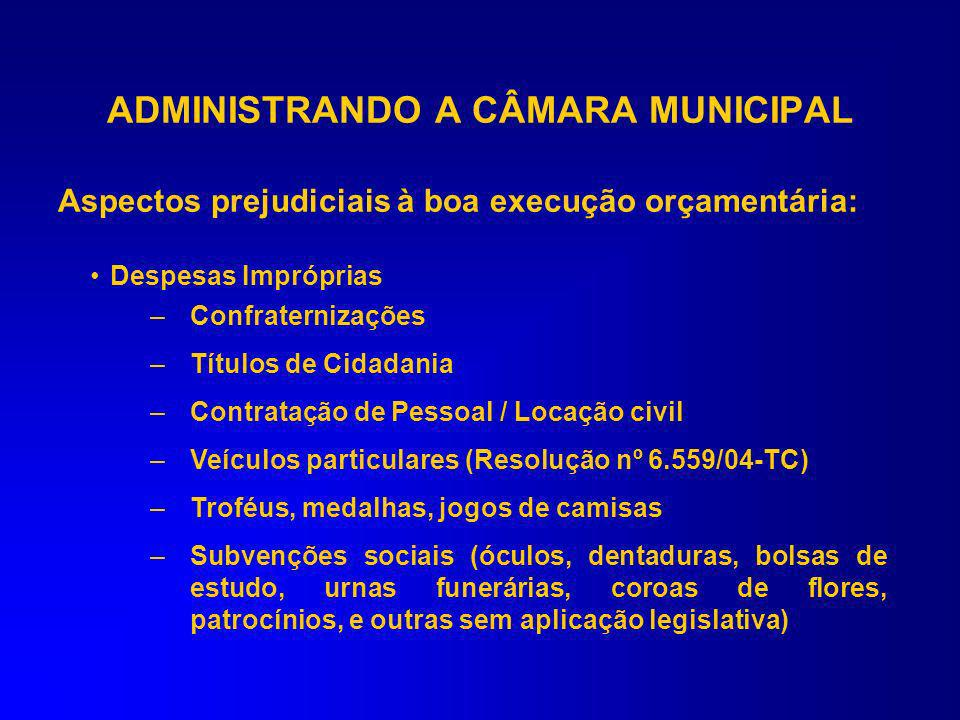 Diárias ou ressarcimento de despesas (Acórdão nº 1637/06-TC) O sistema de diárias não se afigura apropriado, porque não há obrigatoriedade de comprova