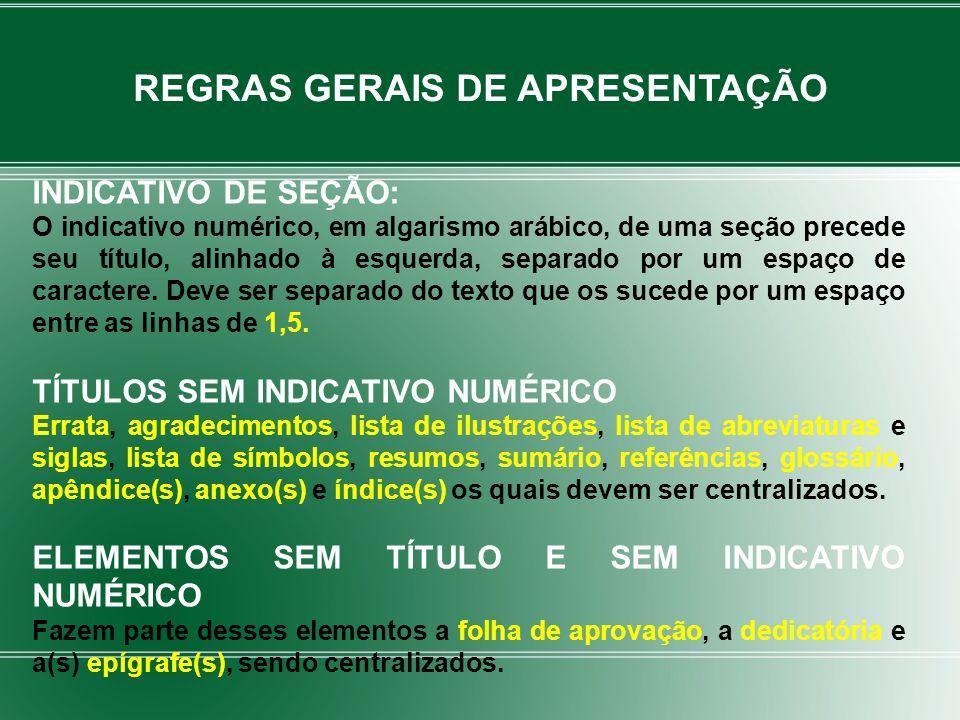 Conjunto padronizado de elementos descritivos, retirados de um documento, que permite sua identificação individual REFERÊNCIAS – NBR 6023