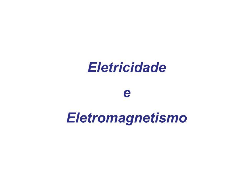 Quando um pedaço de fio corta perpendicularmente as linhas de força de um campo magnético, somos jogados para uma extremidade do fio.