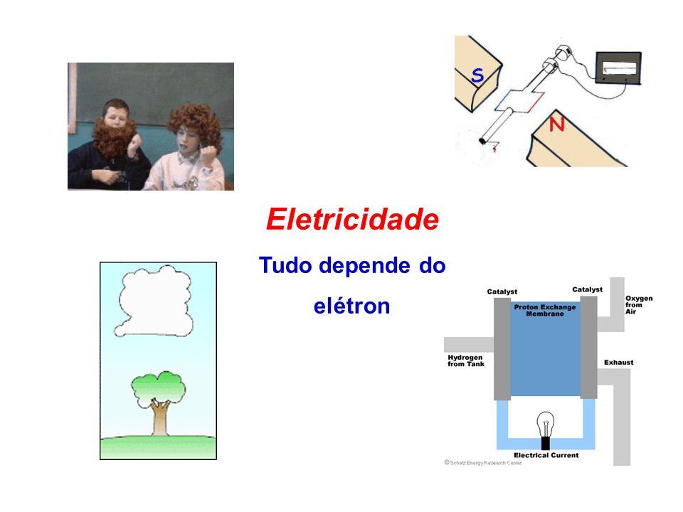 Eu sou um elétron .Eu também sou um elétron. Meu spin é negativo.