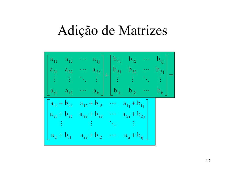 17 Adição de Matrizes