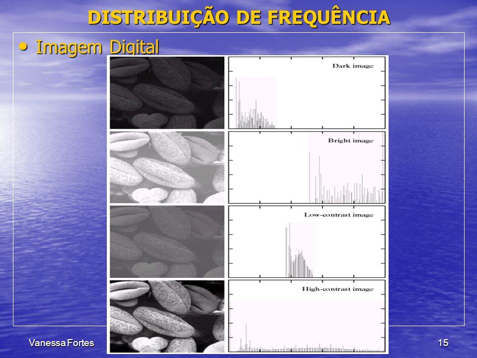 Vanessa FortesAula 615 Imagem Digital Imagem Digital DISTRIBUIÇÃO DE FREQUÊNCIA