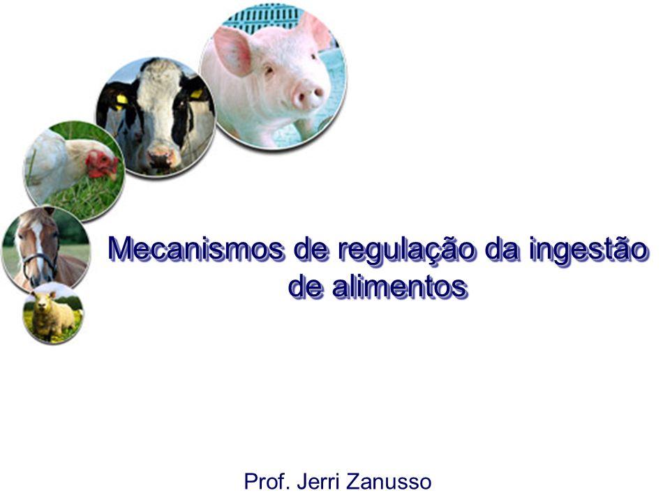 Mecanismos de regulação da ingestão de alimentos Prof. Jerri Zanusso