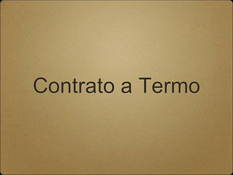 Contrato a Termo