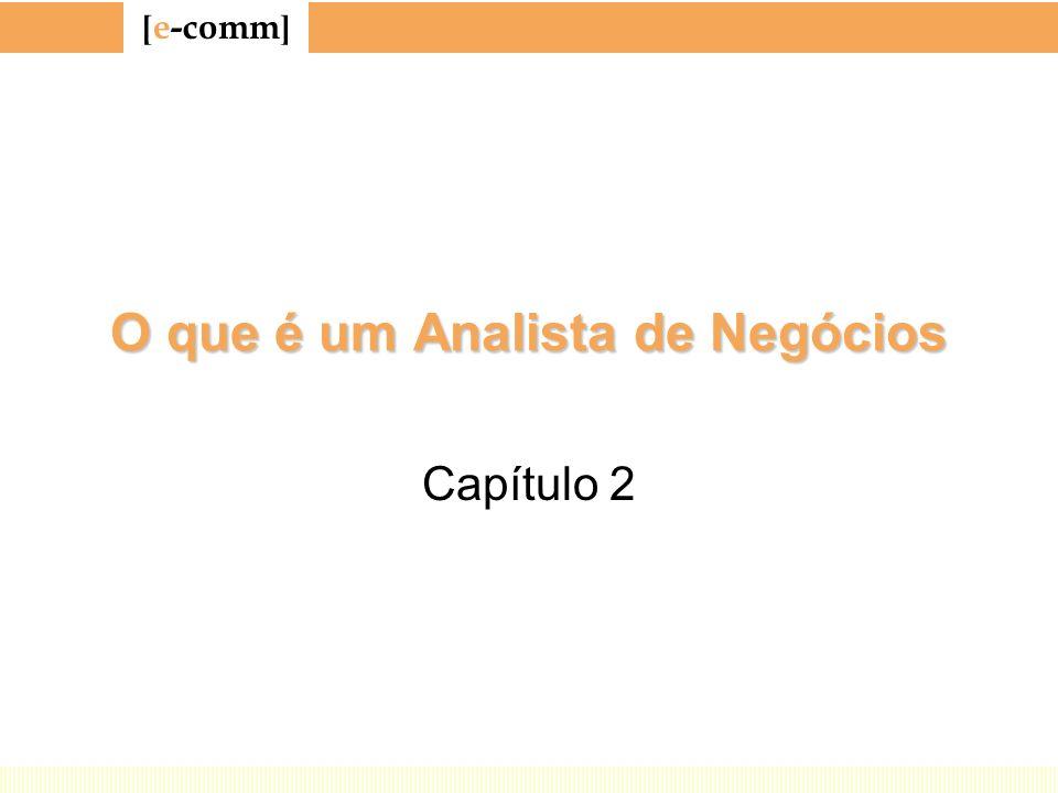 [ e-comm ] O que é um Analista de Negócios Capítulo 2