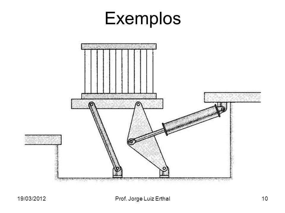 19/03/2012Prof. Jorge Luiz Erthal10 Exemplos