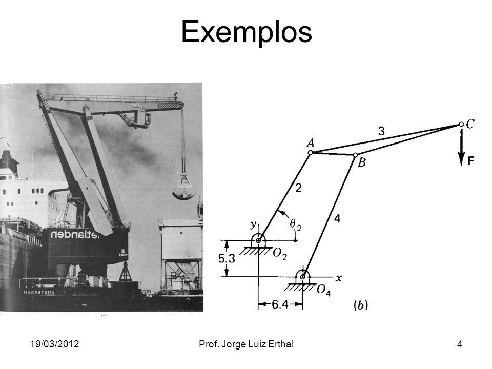 19/03/2012Prof. Jorge Luiz Erthal4 Exemplos