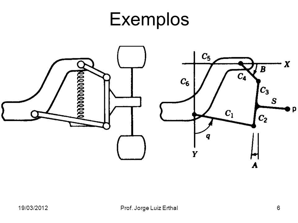 19/03/2012Prof. Jorge Luiz Erthal6 Exemplos